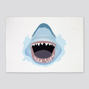 Shark Attack 5'x7'Area Rug